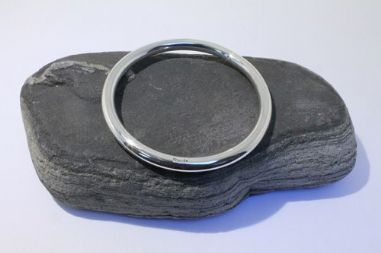 8'' Heavy Solid Sterling Silver Bangle